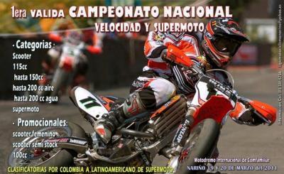 I valida del campeonato nacional de velocidad y supermoto